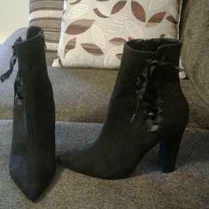 Black Charlotte Russe Boots